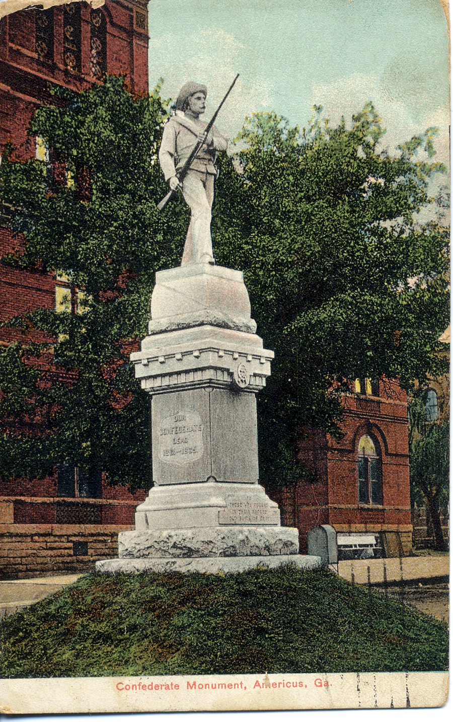 Americus Area Deaths >> Historical Images - Americus 1