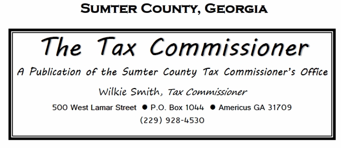 Americus Area Deaths >> Americus, Georgia 31709 & Area.....People, Places and Information, Sumter County Tax ...